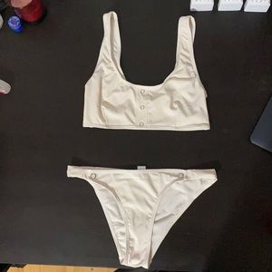 Off white BRAND NEW Bikini set